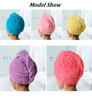 Microfiber Quick Drying Hair Towel - RB Trends