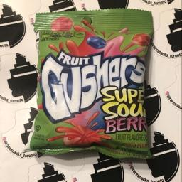 Fruit Gushers Super Sour Berry