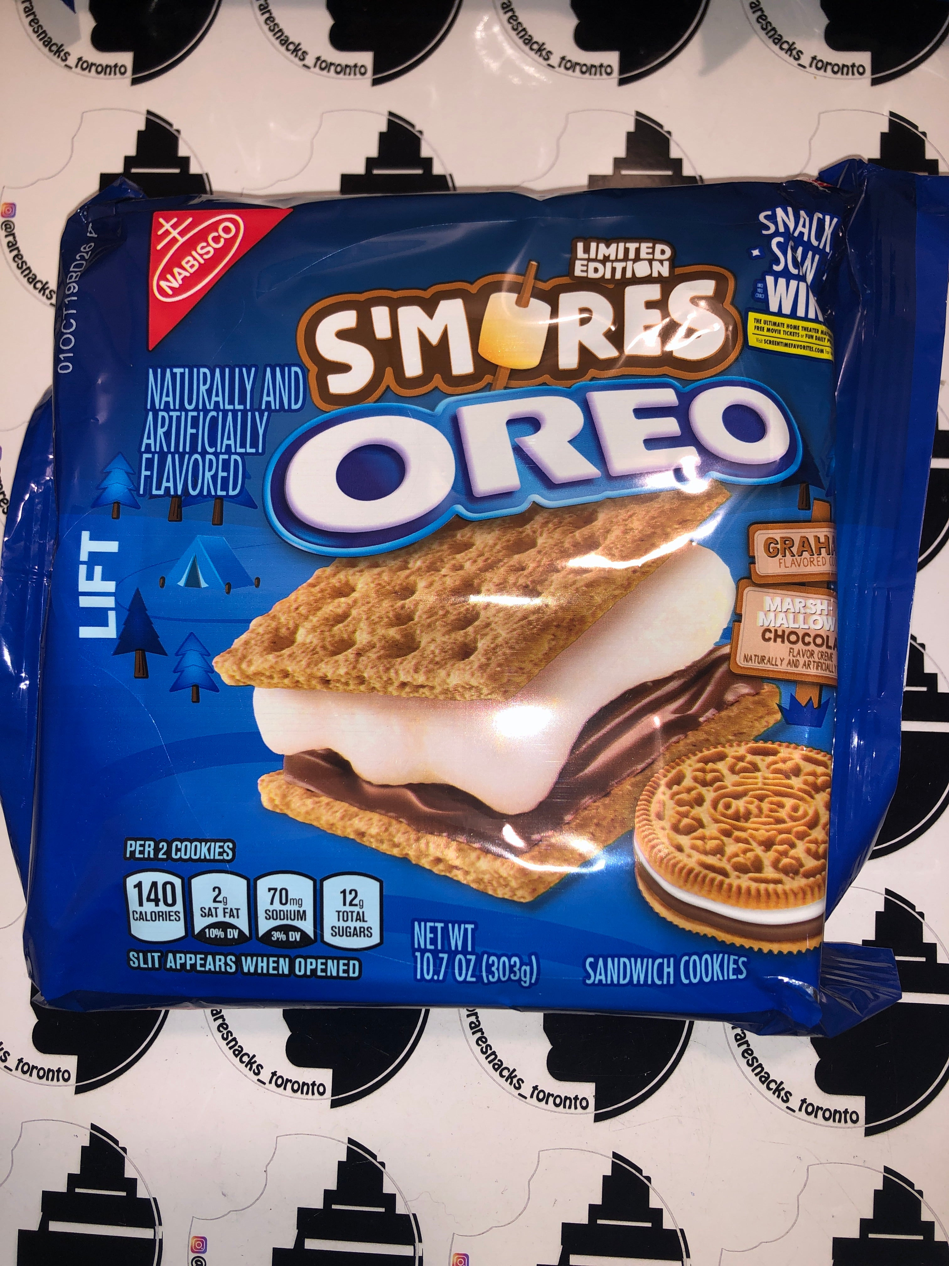 Oreo S'mores Limited Edition