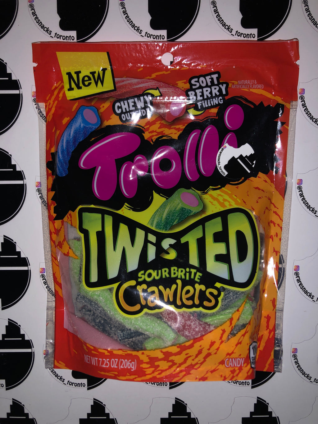 Trolli Twisted Sour Brite Crawler