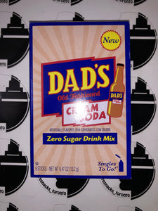 Dads Cream Soda Singles to go
