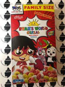 Ryan's World Cereal Red Titans Vanilla Limited Edition