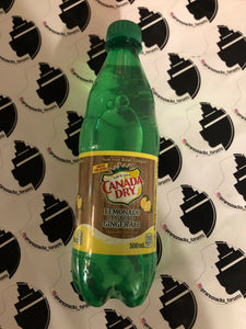 Canada Dry Lemonade Gingerale 20oz