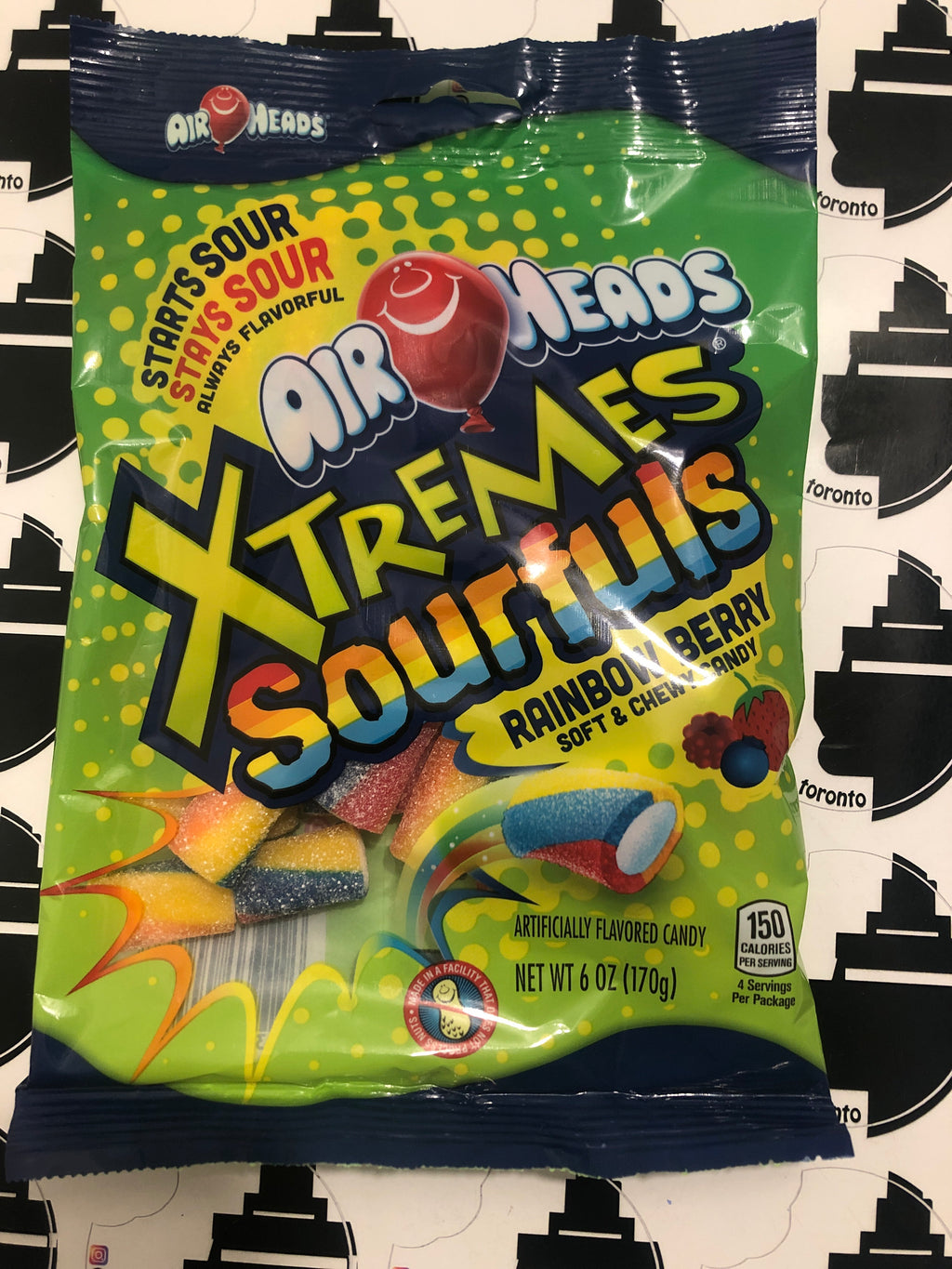 Airhead Extreme sourfuls Rainbow