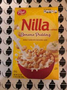 Nilla Banana Bread Pudding Cereal