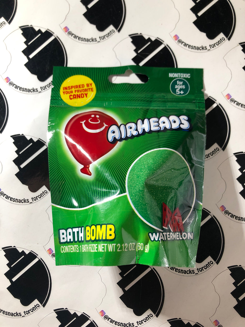 Airheads Bath Bomb Watermelon