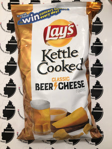 Lays Kettle Cooked Classic Beer Cheese 226g