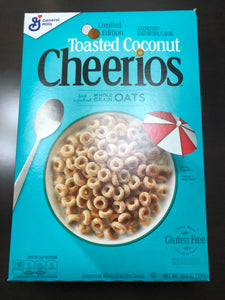 Toasted Coconut Cheerios Limited Edition