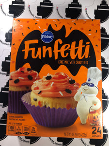 Funfetti Cake Mix Halloween