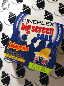 Cineplex Big Screen Snacks Jalapeño Cheese Sauce