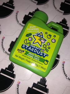 Sneaky Starburst Green Apple 55g ( Bubble Jug )