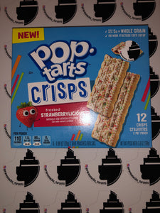 Poptarts Crisps Strawberry