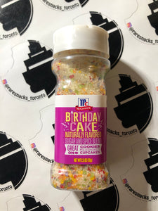 McCormicks Birthday Cake Sugar and Spice Blend 70g