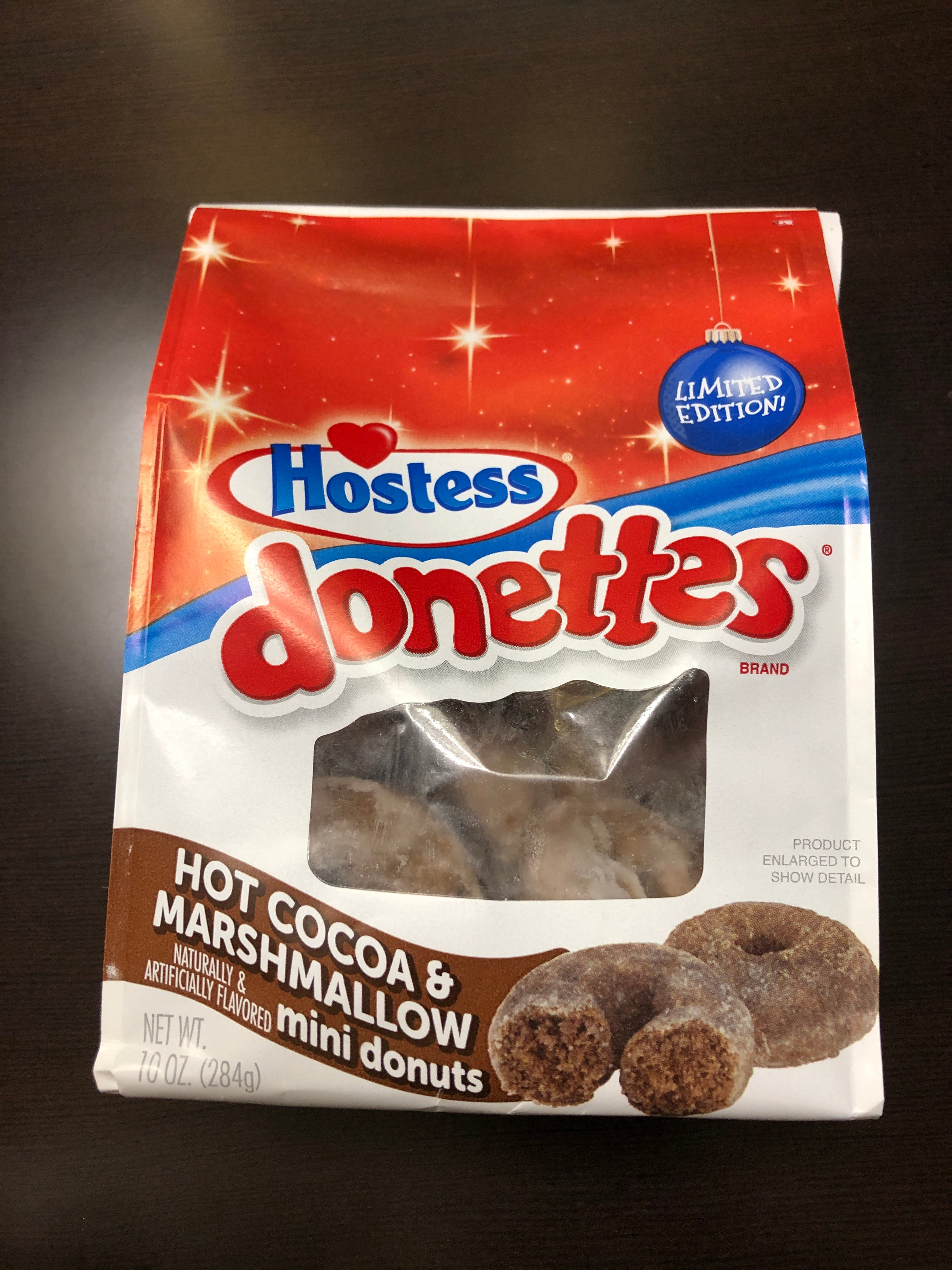 Hostess Donettes Hot Cocoa and Marshmallow