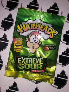 Warheads extreme sour hard candy 2oz