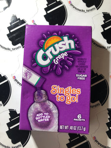 Crush Grape Singles to Go