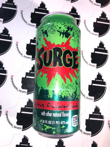 Surge Energy Drink 16oz can