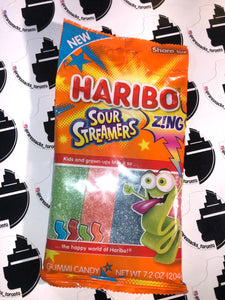 Haribo Sour Streamers 4.5oz