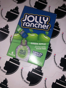 Jolly Rancher Green Apple Sugar free Singles to go