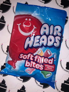Airheads soft filled bites 6oz