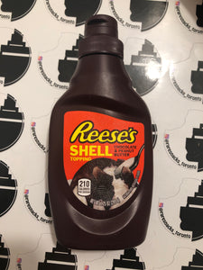 Reese Chocolate and Peanut Butter Shell Topping