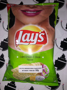 Lays Calm Cream and Onion