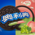 Oreo Peach Grape 388g
