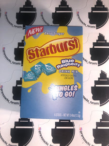 Starburst Blue Raspberry Singles to go