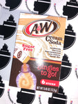 A&W Cream Soda Singles to go