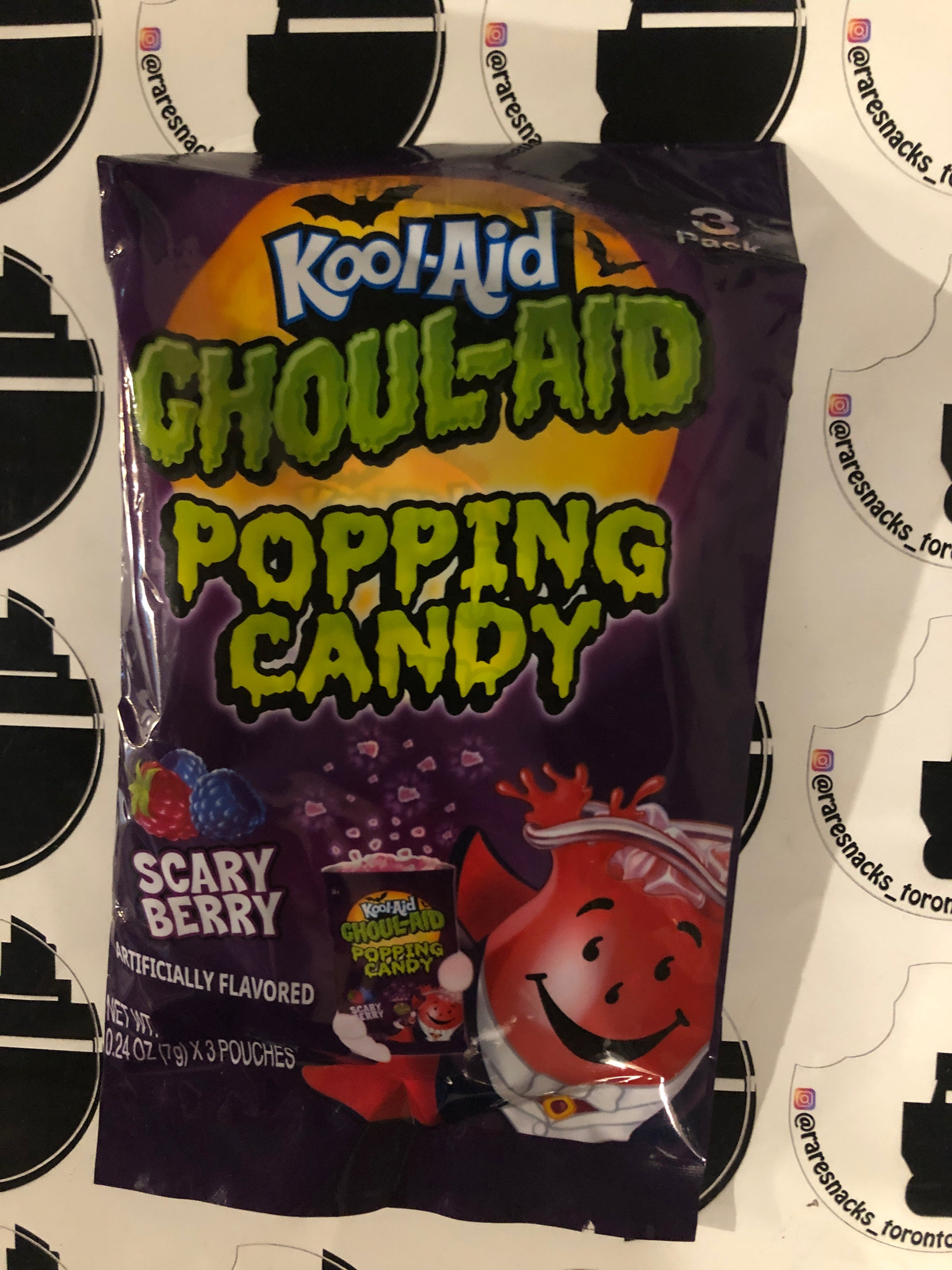 Look-aid Ghoul-aid Popping Candy 3pk