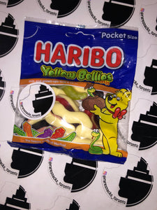 Haribo Yellow Bellies 70g