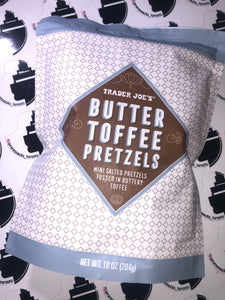 Trader Joe's Butter Toffee Pretzels 10oz