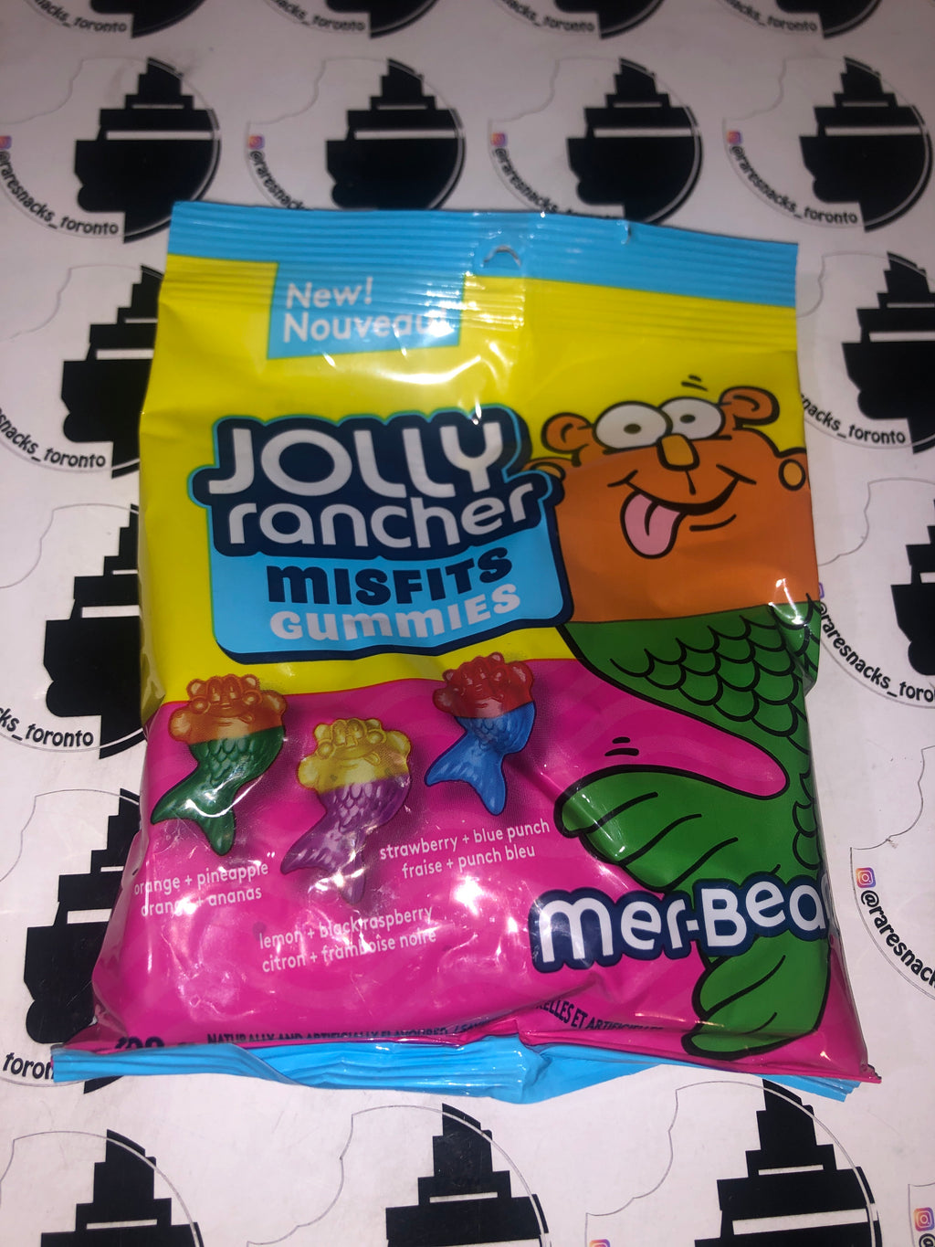 Jolly Rancher Misfit Gummies Mer-bears 182g