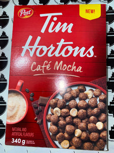 Tim Hortons Cafe Mocha Cereal 340G
