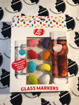 Jelly Belly Glass Markers 8pk