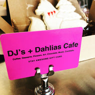 DJs + Dahlias Gift Cards