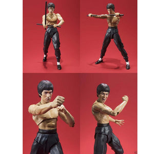 Bruce Lee Kung Fu Action Figure by Bandai Celebrating 75th Anniversary