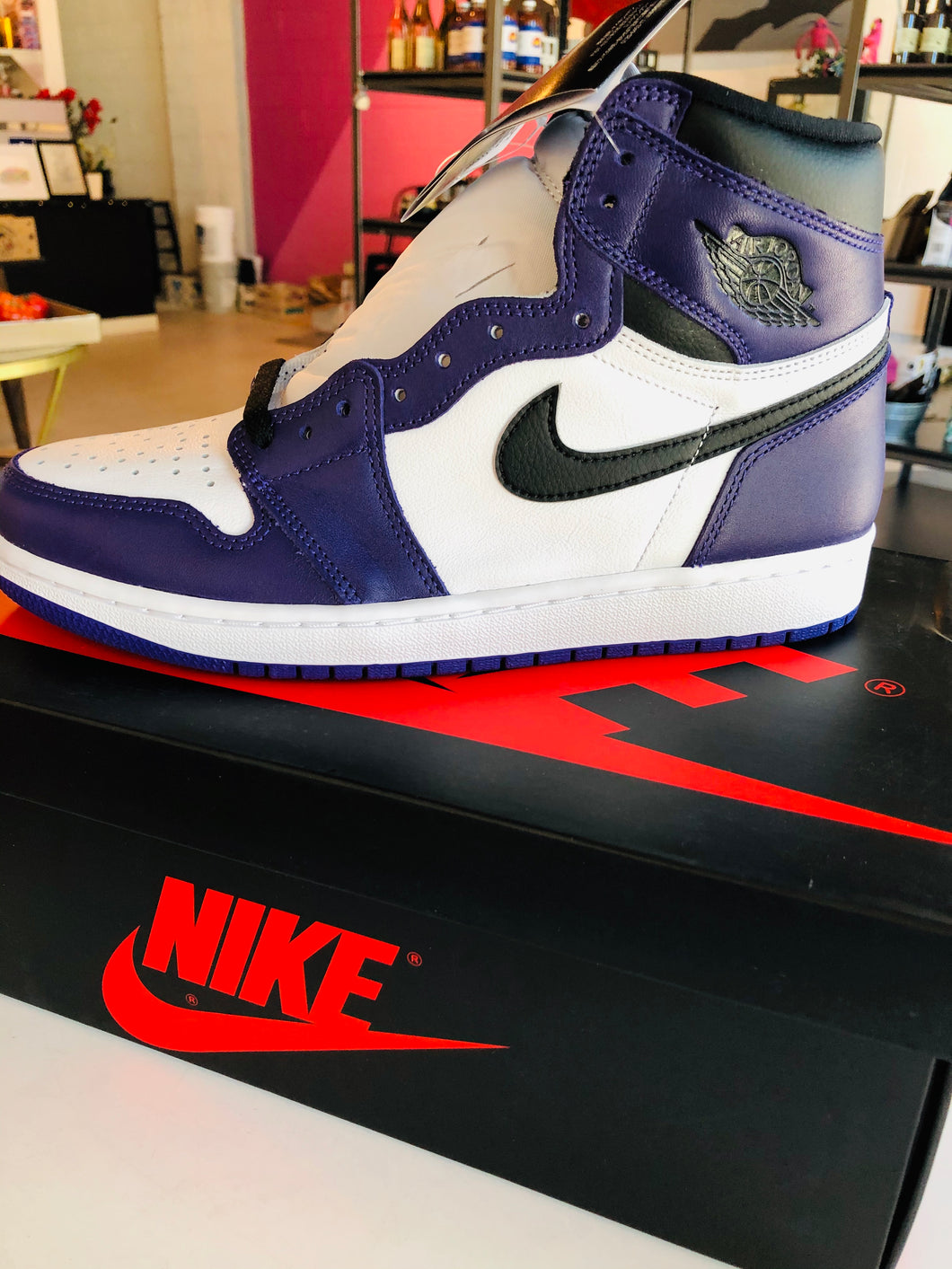 Air Jordan 1 Retro High OG  'Court Purple 2.0'