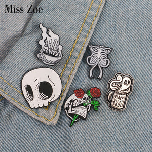 ENTERTAINING + Fun Enamel Pins!