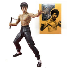Load image into Gallery viewer, Bruce Lee Kung Fu Action Figure by Bandai Celebrating 75th Anniversary
