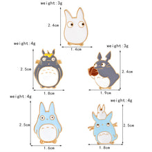 Load image into Gallery viewer, DARLING!  My Neighbor TOTORO Enamel Pins