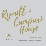 30 April 2020 | Rymill Coonawarra at Campari House - Rymill Coonawarra