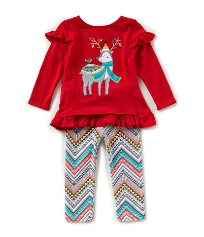 Rare Editions Chic Holiday Reindeer Set