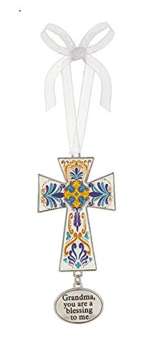 Ganz Decorative Cross Ornament - Grandma You Are A Blessing