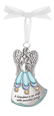 Ganz Grandma Invisible Wings Stained Glass Ornament