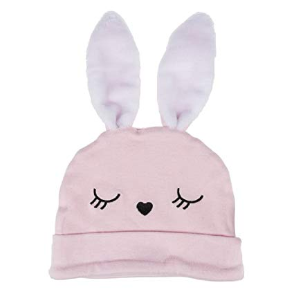 Baby Ganz Pink Easter Bunny Hat