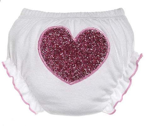 Baby Ganz First Valentine's Day Sequin Heart Bloomer