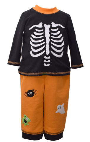 Matt's Scooter Skeleton Halloween Jogger Pants Set