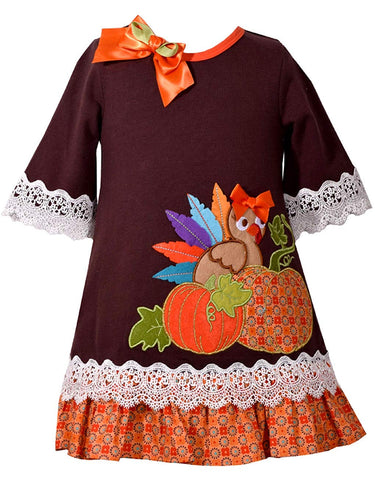 Bonnie Jean Lace Turkey Dress