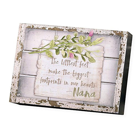 Blossom Bucket Rustic Window Box Signs - Aunt, Grandma, Nana